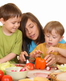 Introducing new foods to children